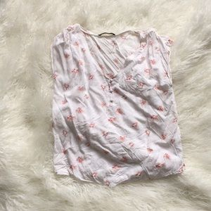 Abercrombie and Fitch floral shirt.